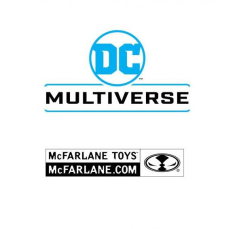 DC MULTIVERSE PACK 2 FIGURINES COLLECTOR MULTIPACK EARTH - 52 BATMAN VS FLASH 18 CM