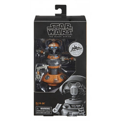 DJ R-3X STAR WARS GALAXYS EDGE BLACK SERIES FIGURINE 2020 15 CM