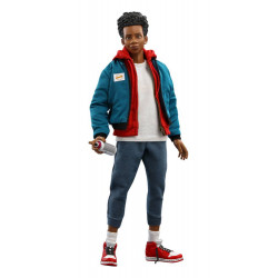 SPIDER-MAN NEW GENERATION FIGURINE MOVIE MASTERPIECE 1 6 MILES MORALES 29 CM