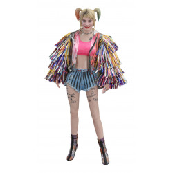 BIRDS OF PREY FIGURINE MOVIE MASTERPIECE 1 6 HARLEY QUINN CAUTION TAPE JACKET VERSION 29 CM