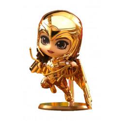 WONDER WOMAN 1984 FIGURINE COSBABY S GOLDEN ARMOR WONDER WOMAN METALLIC GOLD VERSION 10 CM