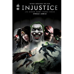 INJUSTICE INTEGRALE - INJUSTICE ANNEE UN INTEGRALE - TOME 1