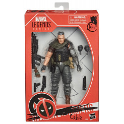 CABLE DEADPOOL 2 MARVEL LEGENDS SERIES FIGURINE 15 CM