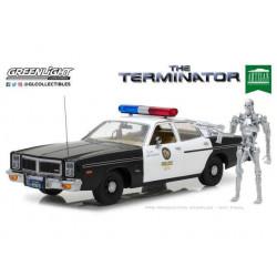 TERMINATOR 1977 DODGE MONACO METROPOLITAN POLICE 1 18 METAL