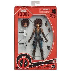DOMINO DEADPOOL MARVEL LEGENDS SERIES FIGURINE 2020 MARVELS 15 CM