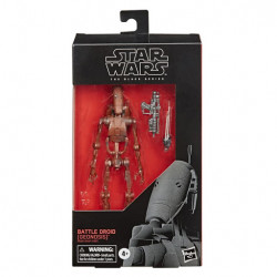 BATTLE DROID STAR WARS BLACK SERIES 6INCH EP2 ACTION FIGURE 15CM
