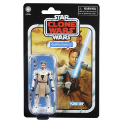 OBI-WAN KENOBI THE CLONE WARS STAR WARS VINTAGE COLLECTION 2020 WAVE 5 FIGURINE 10 CM
