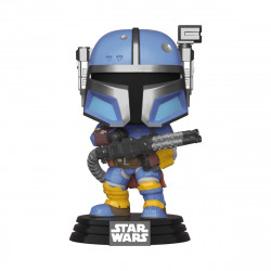 HEAVY INFANTRY MANDALORIA STAR WARS THE MANDALORIAN FIGURINE FUNKO POP! TV VINYL 9 CM