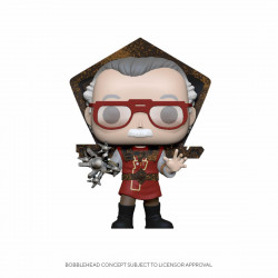 STAN LEE POP! ICONS VINYL FIGURINE STAN LEE IN RAGNAROK OUTFIT 9 CM