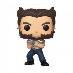 WOLVERINE IN TANKTOP X-MEN 20TH ANNIVERSARY POP! MARVEL VINYL FIGURINE 9 CM