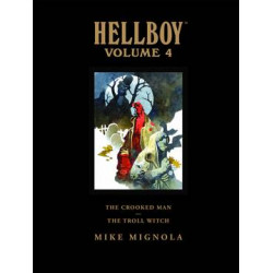 HELLBOY LIBRARY HC VOL 4 CROOKED MAN