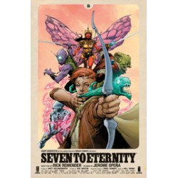 SEVEN TO ETERNITY 15 CVR A OPENA HOLLINGSWORTH