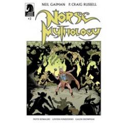 NEIL GAIMAN NORSE MYTHOLOGY 3 CVR A RUSSELL