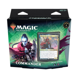 SNEAK ATTACK COMMANDER DECKS ZENDIKAR RISING MAGIC THE GATHERING ANGLAIS