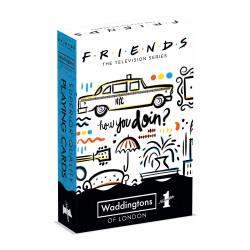 FRIENDS JEUX DE 54 CARTES A JOUER