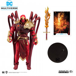 AZRAEL DC MULTIVERSE FIGURINE BUILD A WHITE KNIGHT 18 CM