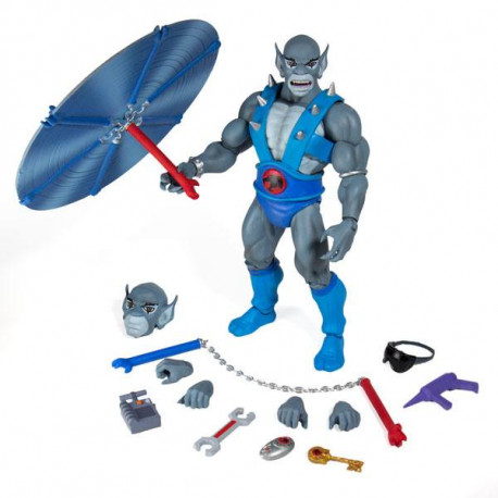 PANTHRO THUNDERCATS WAVE 1 FIGURINE ULTIMATES 18 CM
