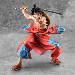 ONE PIECE STATUETTE PVC PORTAIT OF PIRATES WARRIORS ALLIANCE LUFFY TARO 17 CM