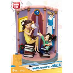 BELLE & VANELLOPE RALPH 2.0 DIORAMA PVC D-STAGE 15 CM
