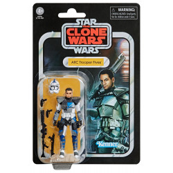 ARC TROOPER FIVES THE CLONE WARS STAR WARS VINTAGE COLLECTION 2020 WAVE 4 FIGURINE 10 CM