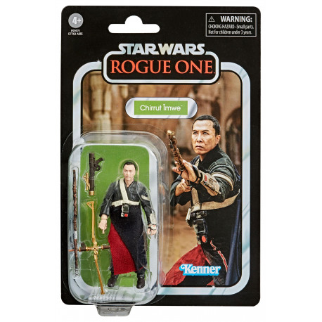 CHIRRUT IMWE ROGUE ONE STAR WARS VINTAGE COLLECTION 2020 WAVE 4 FIGURINE 10 CM