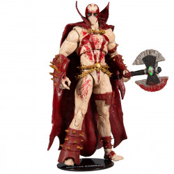 MORTAL KOMBAT 4 FIGURINE SPAWN BLOODY 18 CM