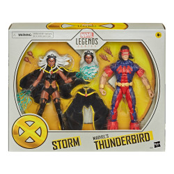 STORM & MARVELS THUNDERBIRD MARVEL LEGENDS PACK 2 FIGURINES 15 CM
