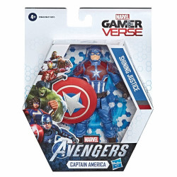 CAPTAIN AMERICA: SHINING JUSTICE MARVEL AVENGERS GAMER VERSE ACTION FIGURE