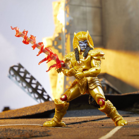 GOLDAR POWER RANGERS LIGHT COLL MMPR ACTION FIGURE 15 CM