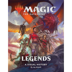 MAGIC THE GATHERING LEGENDS VISUAL HISTORY