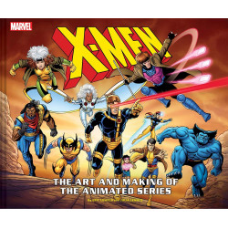 X-MEN ART AND MAKING OF THE ANIMATED SERIES