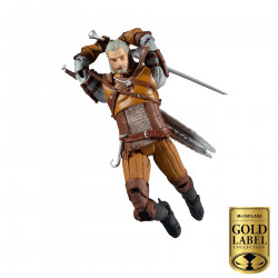 THE WITCHER FIGURINE GERALT WAL MART COLLECTOR SERIES 18 CM