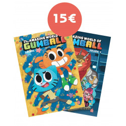 PACK LE MONDE INCROYABLE DE GUMBALL TOME 1 + 2