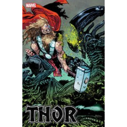 THOR 11 DANIEL WARREN JOHNSON MARVEL VS ALIEN VAR