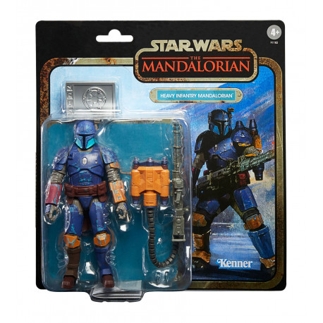HEAVY INFANTRY MANDALORIAN STAR WARS THE MANDALORIAN CREDIT COLLECTION FIGURINE 2020 15 CM