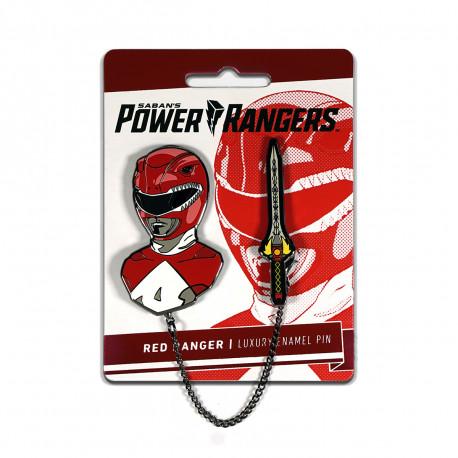 RED RANGER POWER RANGERS ENAMEL PIN SET