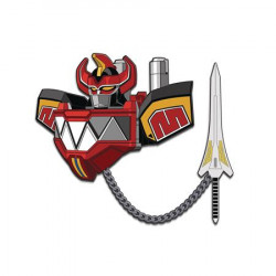 MEGAZORD POWER RANGERS ENAMEL PIN SET