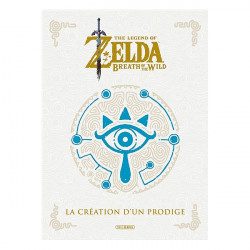 THE LEGEND OF ZELDA - BEAUX LIVRES - ONE-SHOT - THE LEGEND OF ZELDA - BREATH OF THE WILD - LA CREAT