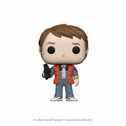 RETOUR VERS LE FUTUR POP! VINYL FIGURINE MARTY IN PUFFY VEST 9 CM