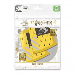 HARRY POTTER PACK 2 MASQUES EN TISSU POUFSOUFFLE