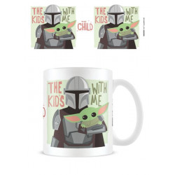 STAR WARS THE MANDALORIAN MUG THE KID'S WITH ME