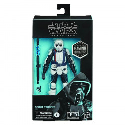 SCOUT TROOPER STAR WARS BLACK SERIES GAMING GREATS ACTION FIGURE 15 CM