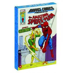 MARVEL LEGENDS RETRO 3.75 SPIDERMAN & ELECTRO ACTION FIGURE 10 CM 2 PACK