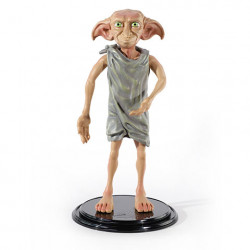 DOBBY HARRY POTTER TOYLLECTIBLE AVEC SUPPORT BENDYFIGS FIGURINE