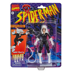 BLACK CAT SPIDER-MAN MARVEL RETRO COLLECTION FIGURINE MARVELS 15 CM