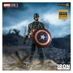 CAPTAIN AMERICA FIRST AVENGER EXCLUSIVE STATUE 20 CM
