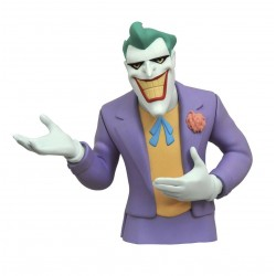 THE JOKER DC BATMAN THE ANIMATED SERIES BUST BANK