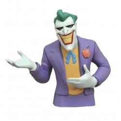 THE JOKER DC BATMAN THE ANIMATED SERIES BUST BANK