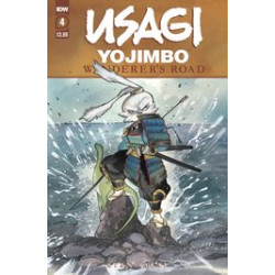USAGI YOJIMBO WANDERERS ROAD 4 PEACH MOMOKO CVR