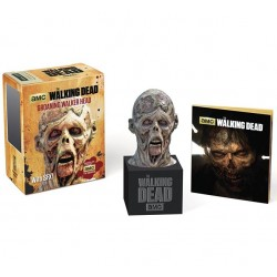 GROANING WALKER HEAD THE WALKING DEAD KIT